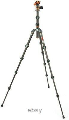 3 Legged Thing Legends Ray Carbon Fibre Tripod with AirHed VU Grey
