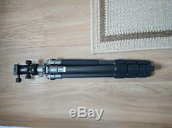 Benro 4 Section carbon fibre tripod & Arca Swiss type Ball Head (hardly used)