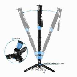 Carbon Fiber Camera Lightweight Monopod Tripod holder Sirui P-324SR ball head DH