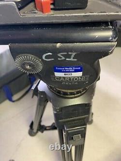 Cartoni Delta Head Carbon Fiber 1 stage Tripod with case