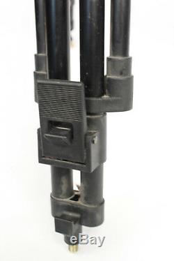 Cartoni Gamma G100 Fluid Head & Carbon Fiber Tripod + Arms & Quick Release Plate