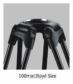 EImage Carbon Fiber tripod leg 100mm bowl tripod payload 60kg GC102