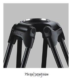 Eimage GC752 Carbon Fiber tripod leg 75mm bowl tripod payload 40kg