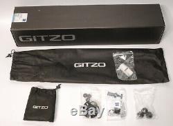 GITZO 5532S CARBON FIBER TRIPOD, new in box with all accessories