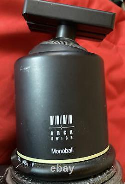 GITZO G1548 Mountaineer MK2 Carbon Fiber Tripod and ARCA SWISS Monoball