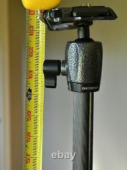 Gitzo Carbon Fiber Traveler Kit Incl GT1545T Tripod & GH1780TQR Center Ball Head
