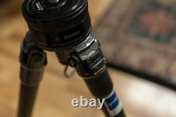 Gitzo G1227 MK2 Mountaineer carbon fiber tripod legs withMarkins TB-20 Tripod Base