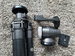 Gitzo G1228 MK2 carbon fibre tripod+Gitzo G1276M Off Centre Ball Head+Plate