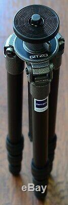 Gitzo G1228 Mountaineer Reporter Mk2 Carbon Fiber Tripod Legs (Rapid Column)