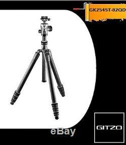 Gitzo GK2545T-82QD Series 2 Traveler Carbon Fiber Tripod with GH1382QD Ball Head