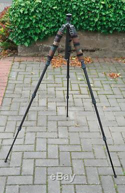 Gitzo GT1544T Series 1 Traveler Carbon Fibre Tripod with leg wrappings