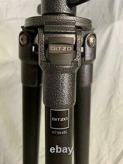 Gitzo GT3540L 6X Carbon Fiber 3 Series Mountaineer Tripod Legs G-Lock MINT