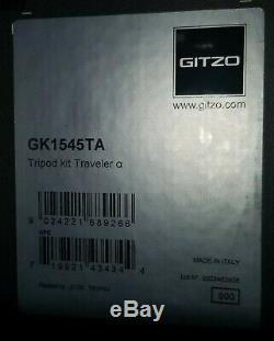 Gitzo Traveler Gk1545ta Gt1545t Series 1 4-section Carbon Fiber Tripod In Box