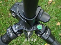 Induro CX213 Stealth Carbon Fiber Series 2 Tripod, 3 Sections Horizontal Bar