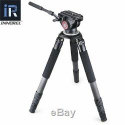 Innorel RT90C Carbon Fiber Tripod stand 40mm tube 40kg load 75mm with N52 head