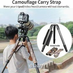 Innorel RT90CM Carbon Fiber Tripod 75mm with Camouflage Sleeve