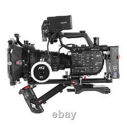 JTZ DP30 Cine Camera Carbon Fiber 4x5.65 Matte Box 15mm/19mm For Sony ARRI RED