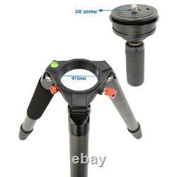 Koolehaoda carbon fiber video tripod, Multi-function camera tripod(A-364C)