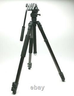 Leica (Gitzo) Traveler Carbon Fiber Camera Tripod WithVideo/Photo Fluid Head VH-1