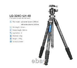Leofoto USA DealerLeofoto LQ-324C Tripod with Center Column Set and Case