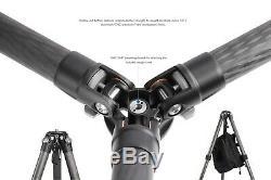 Leofoto USA SellerLeofoto LS-325C + 282C Pro Carbon Fiber Tripod Set