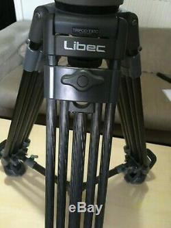 Libec T97C + BR3 Mid Spreader Carbon Tripod with Libec H70 II Head