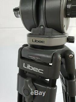 Libec T97C Carbon Tripod with Libec H70 II Head + SP1 Mid Spreader