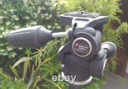 Manfrotto 055 MF3 carbon fibre tripod with 804RC2 Head