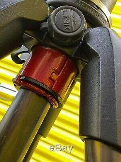 Manfrotto 055 carbon fibre tripod + 410 geared head PERFECT property/architect