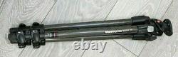 Manfrotto 190cxpro3 Carbon Fibre 3 Section Tripod Mt190cxpro3 Great Condition