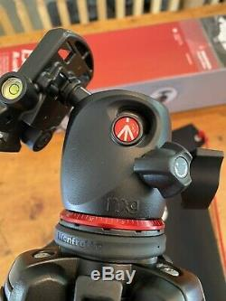 Manfrotto 190go! M-Series 4-Section Twst Lock Carbon Fiber Tripod XPRO BALL HEAD
