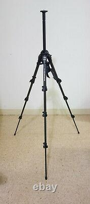 Manfrotto 190mf4 Carbon Fiber 4 Stage Tripod With Handle Travel Lightweight