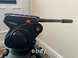 Manfrotto 501 HDV / 525 MVB video tripod kit