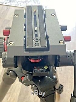 Manfrotto 504HD, 3-Stage Carbon Fiber 536 Tripod