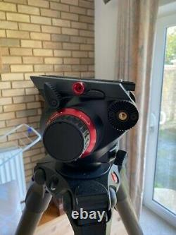 Manfrotto 504HD Head with535 2-Stage Carbon Fiber Tripod System