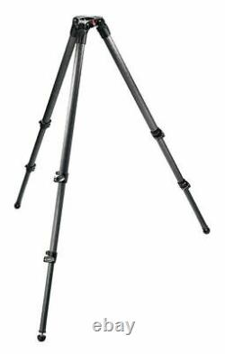 Manfrotto 535 Carbon Fibre 2 Stage Video Tripod with 75mm Bowl