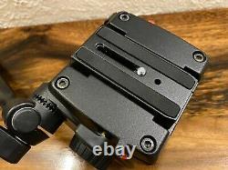 Manfrotto 755CX3 Carbon Fiber Tripod & 501HDV Video Head with case