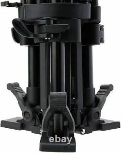 Manfrotto Carbon Fiber Twin leg with middle spreader video tripod 100/75mm bowl