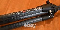 Manfrotto CarbonOne 440 Carbon Fiber Magnesium 4-Section Tripod 3444d 20.5-64.5
