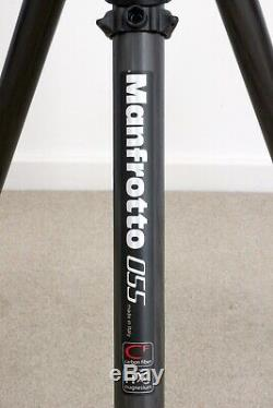 Manfrotto MT055CXPRO3 carbon fibre and magnesium tripod