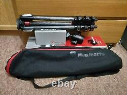 Manfrotto MT190CXPRO4 190 Carbon Fibre Tripod, Cover, Ball Head 498RC2 set bundle