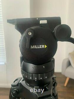 Miller Compass 15 Fluid Head Tripod + 2-stage carbon fibre Legs