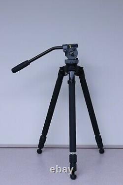 Miller DS10 Solo DV Tripod Carbon Fiber 1511 with Electric Pencil Marks