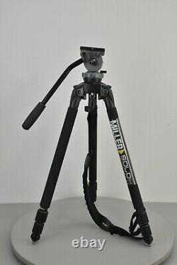 Miller DS10 Solo DV Tripod System Carbon Fiber (75 mm Ball Base)