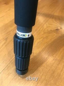 Miller DS20 fluid head and Miller Solo 75 Carbon Fibre Tripod