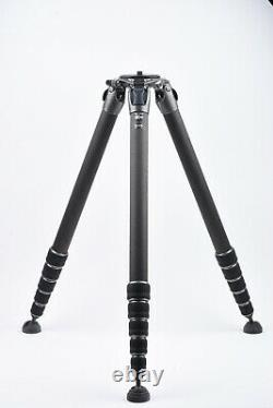 Mint- Gitzo Systematic Gt5563gs Series 5 6-section Carbon Fiber Tripod Giant