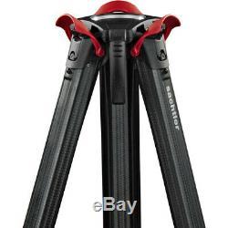 New Sachtler flowtech 100 Carbon Fiber Tripod with Rubber Feet MFR # 5584
