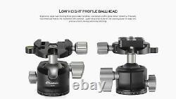 Open BoxLeofoto LS-283CM Pro Carbon Fiber Table Tripod and LH-30 Ball Head