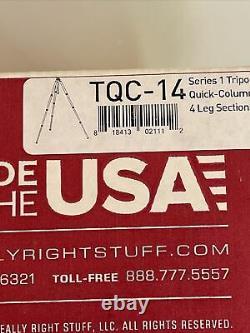 Really Right Stuff RRS TQC-14 Tripod With Acratech Ballhead