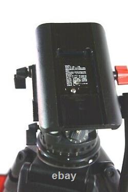 Sachtler DV 8 SB 100mm CF CARBON TRIPOD SYS 7007 7004 PL BAG BAR SERVICED 26Lbs